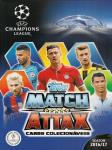 Match Attax Cards Colecionáveis UEFA Champions League 2016/2017