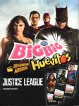 Chicle de Bola Arcor Big Big Huevitos Justice League