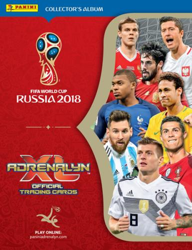 Adrenalyn XL Fifa World Cup 2018