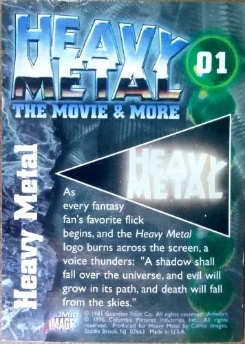 Heavy Metal - The Movie & More - Cards