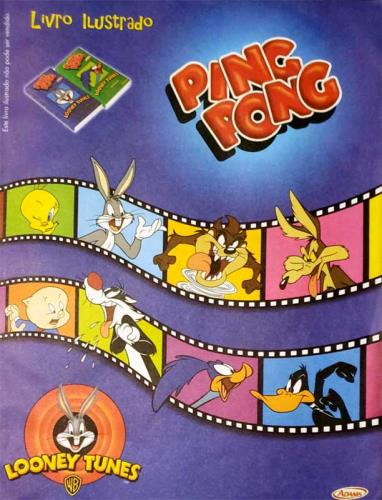 Chicle de Bola Ping Pong Looney Tunes