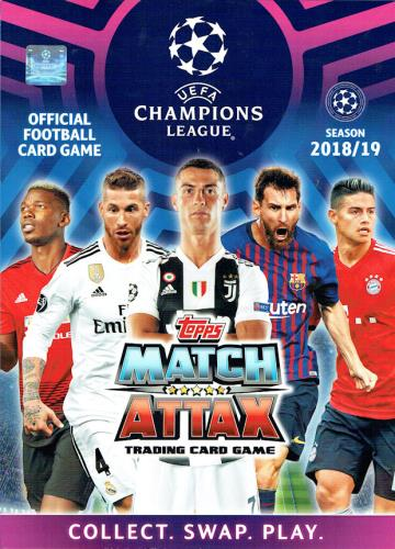 Match Attax UEFA Champions League 2018/19 - Cards