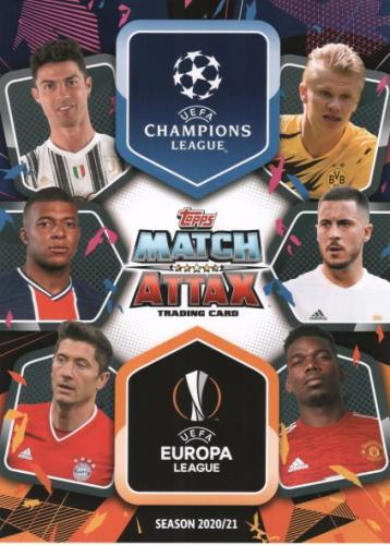 Match Attax UEFA Champions League 2020/21 - Cards