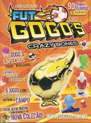 Fut Gogo's Crazy Bones - Figurinhas